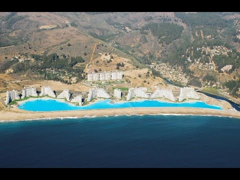 San alfonso del mar having the world 39 s largest swimming - San alfonso del mar swimming pool ...