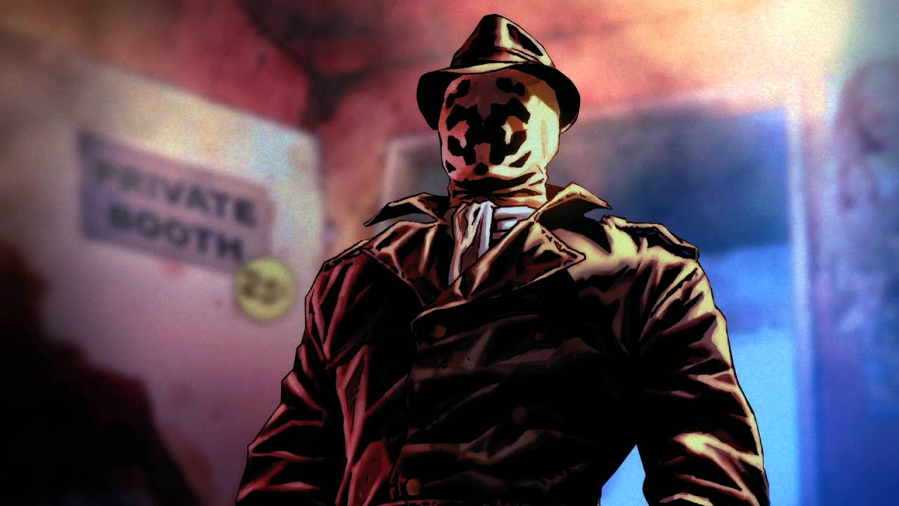 Rorschach Watchmen Wallpaper Hd Before Watchmen Commercial 30 Second Version Youtube