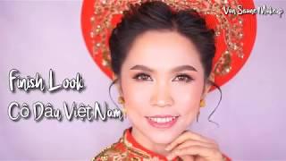 ແຕ່ງຫນ້າເຈົ້າສາວ ຫວຽດນາມ ສວຍຫວານ แต่งหน้าเจ้าสาว เวียดนาม สวยหวาน Cô dâu ViệtNam xinh đẹp