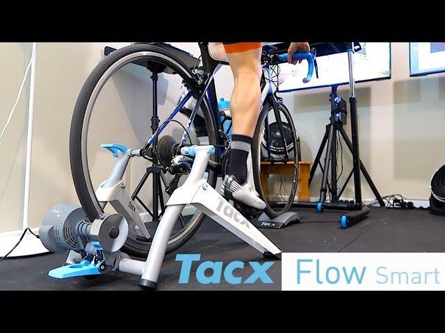 TACX Flow Smart Trainer - Unboxing, Building, Ride Review