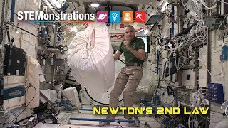 NASA: Newton's Second Law in Space thumbnail