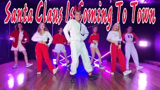 Download lagu SANTA CLAUS IS COMING TO TOWN (Trap Remix) - Di Choreography