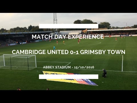 Groundhop at the Abbey Stadium - Cambridge United vs. Grimsb