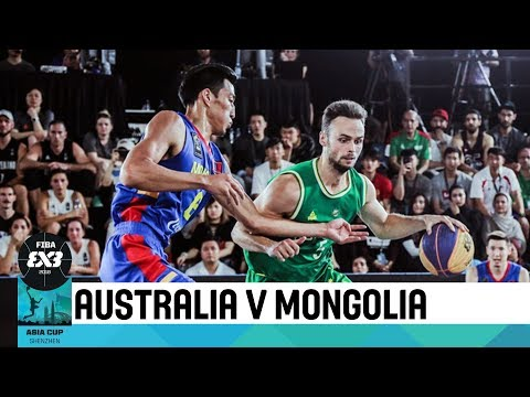 Australia vs Mongolia - Final - Men's Full Game - FIBA 3x3 Asia Cup 2018