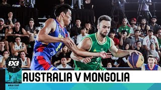 Australia v Mongolia - Final - Men's Full Game - FIBA 3x3 Asia Cup 2018