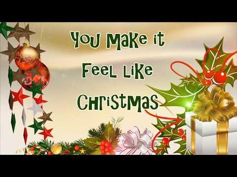 You Make It Feel Like Christmas (LYRICS-HD)- Gwen Stefani And Blake Shelton