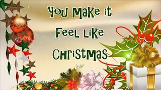 You Make It Feel Like Christmas (LYRICS-HD)- Gwen Stefani and Blake Shelton