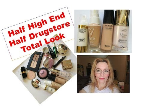 Half High End Half Drugstore