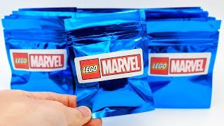 Mystery LEGO Marvel Minifigures - 20 Pack Opening! (RARE Minifigures!)