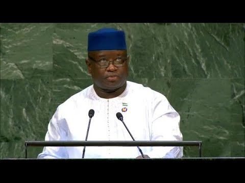 🇸🇱 Sierra Leone - President Addresses General Debate, 73rd S