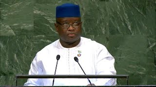 🇸🇱 Sierra Leone - President Addresses General Debate, 73rd Session