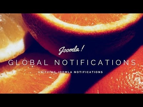 TJ Notifications - Global Notifications For Joomla!