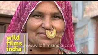 Traditional Dress of Rajasthani women
