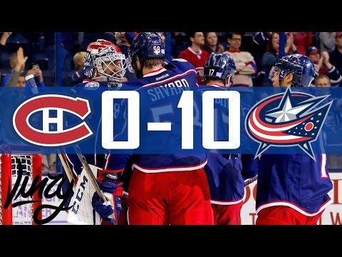 Canadiens vs Blue Jackets | 10 Goals | Highlights | Nov. 4, 2016 [HD]