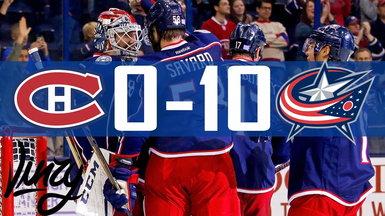 Canadiens vs Blue Jackets | 10 Goals | Highlights | Nov. 4, 2016 ...