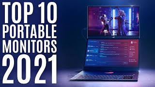 Top 10: Best Portable Monitors of 2021 / Touchscreen Portable Gaming Monitor, IPS, Full HD, 4K