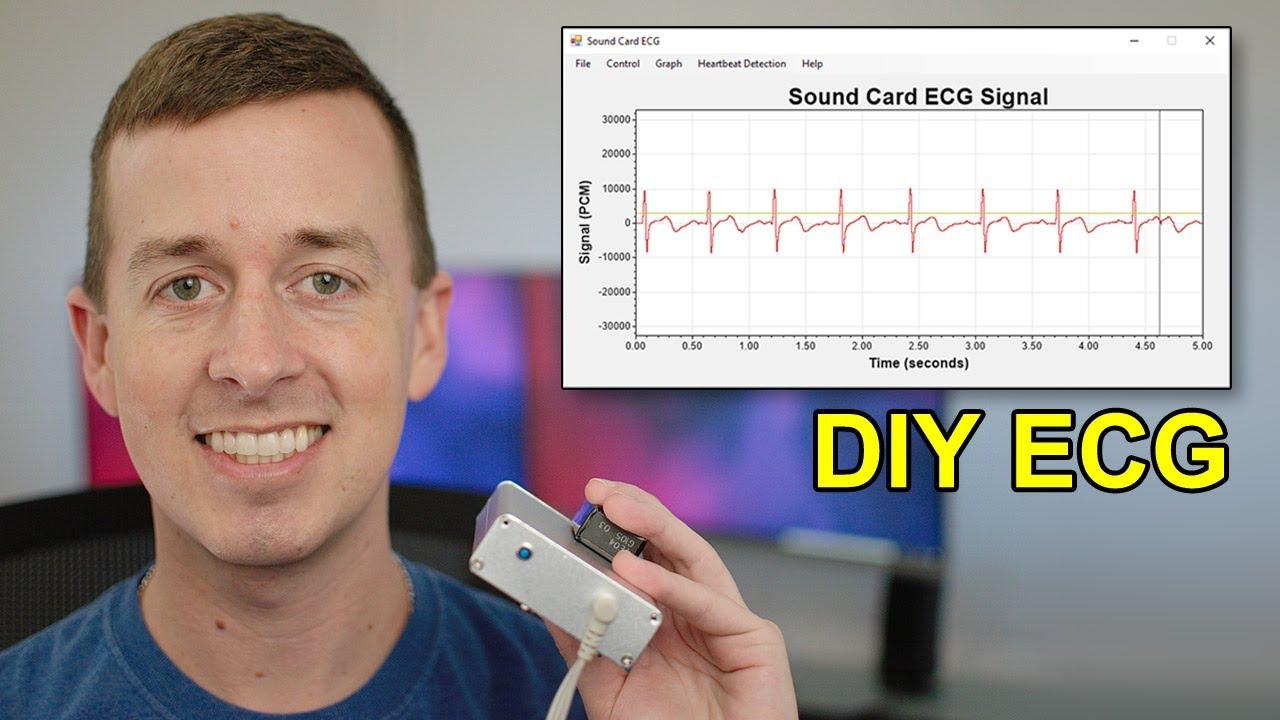 Sound Card ECG with AD8232 – SWHarden.com