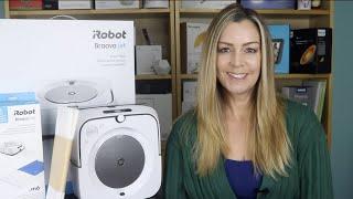 iRobot Braava jet m6 moppping robot review