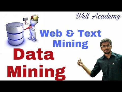 Data Mining Lecture - - Advance Topic | Web mining | Text mining (Eng-Hindi)