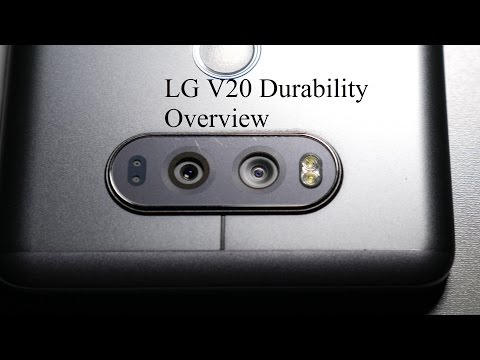 LG V20 6 Month Durability Overview