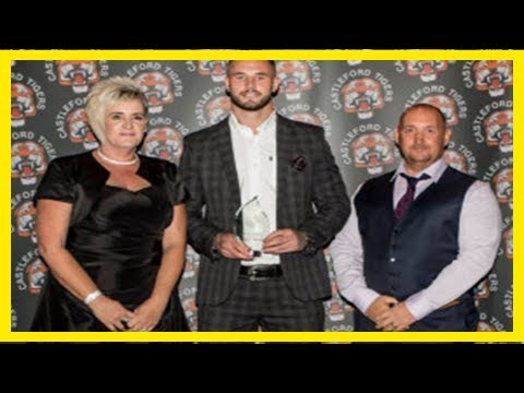 Breaking News Hardaker takes home two trophies from castleford awards night