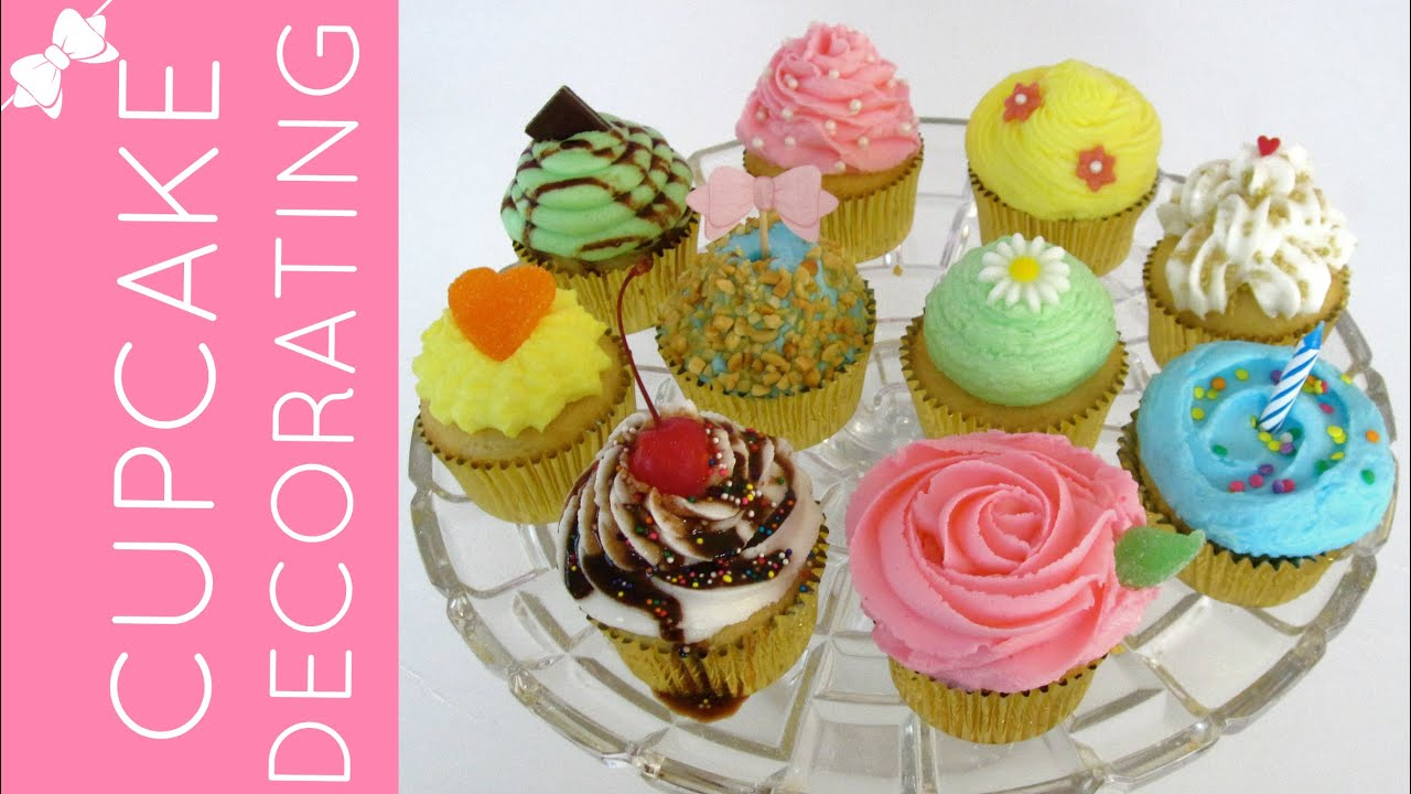 Quick Easy Cake Decorating Tips : How To Decorate Fun & Professional Cupcakes At Home ...