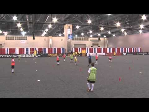 NSCAA Convention 2015 Wayne Harrison Coaching Clinic