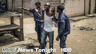 Police Killings in DRC & Antifa Protest Stakeout: VICE News Tonight Full Episode (HBO) thumbnail
