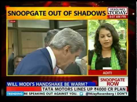 Will snoopgate cast a shadow on Kerry-Modi meet?