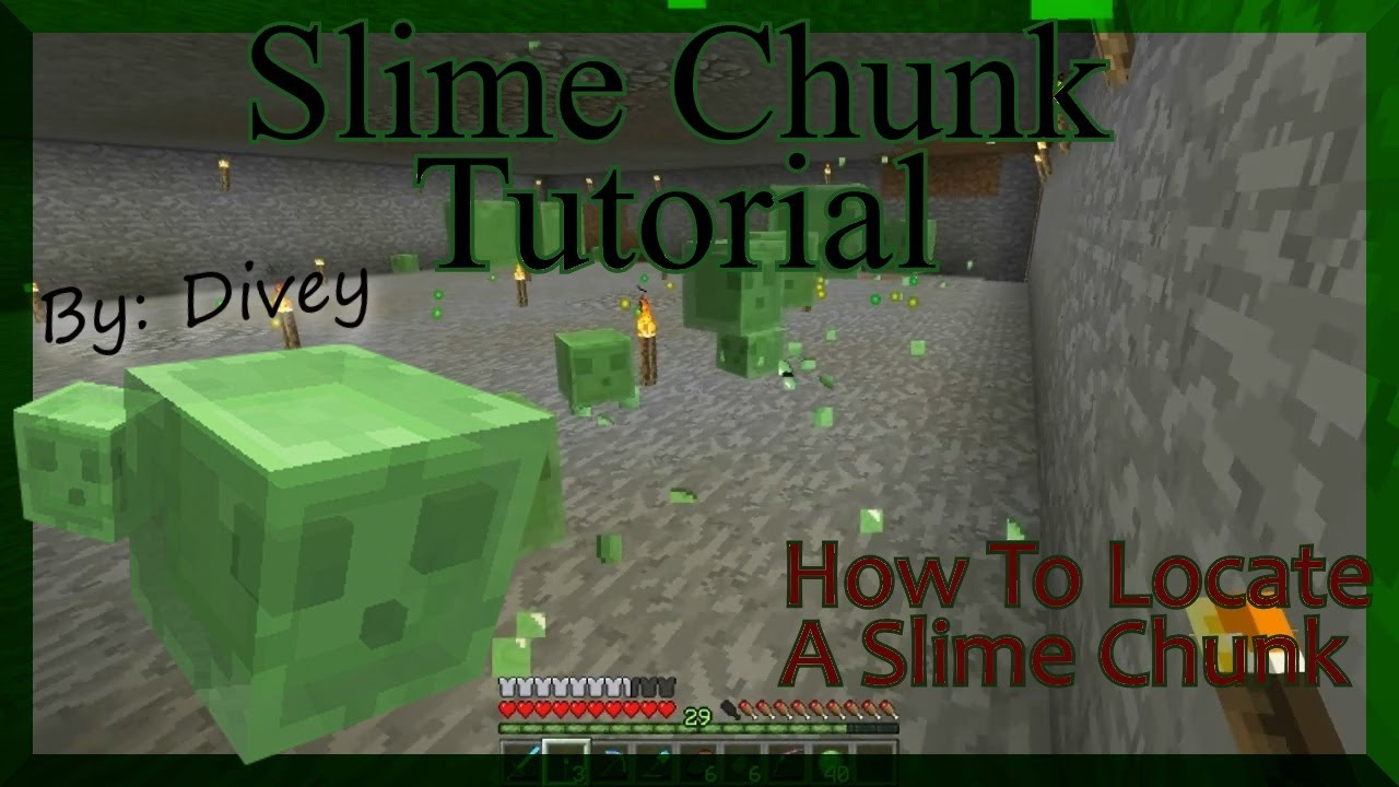 Minecraft Tutorial: How To Find A Slime Chunk