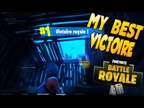 Ma Plus Belle Victoire Omg Fortnite Battle Royale