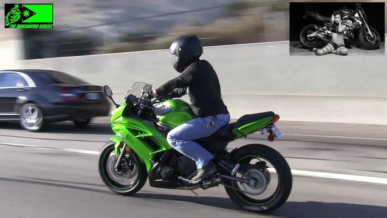 Kawasaki Ninja Riding Position