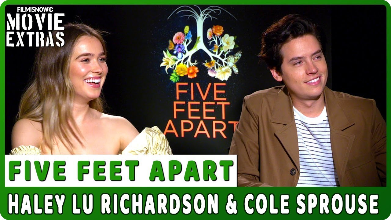 FIVE FEET APART | Haley Lu Richardson & Cole Sprouse talk about the movie - Official Interview