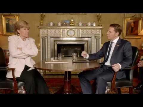 Tracey Ullman  Angela Merkel Meets Emmanuel Macron