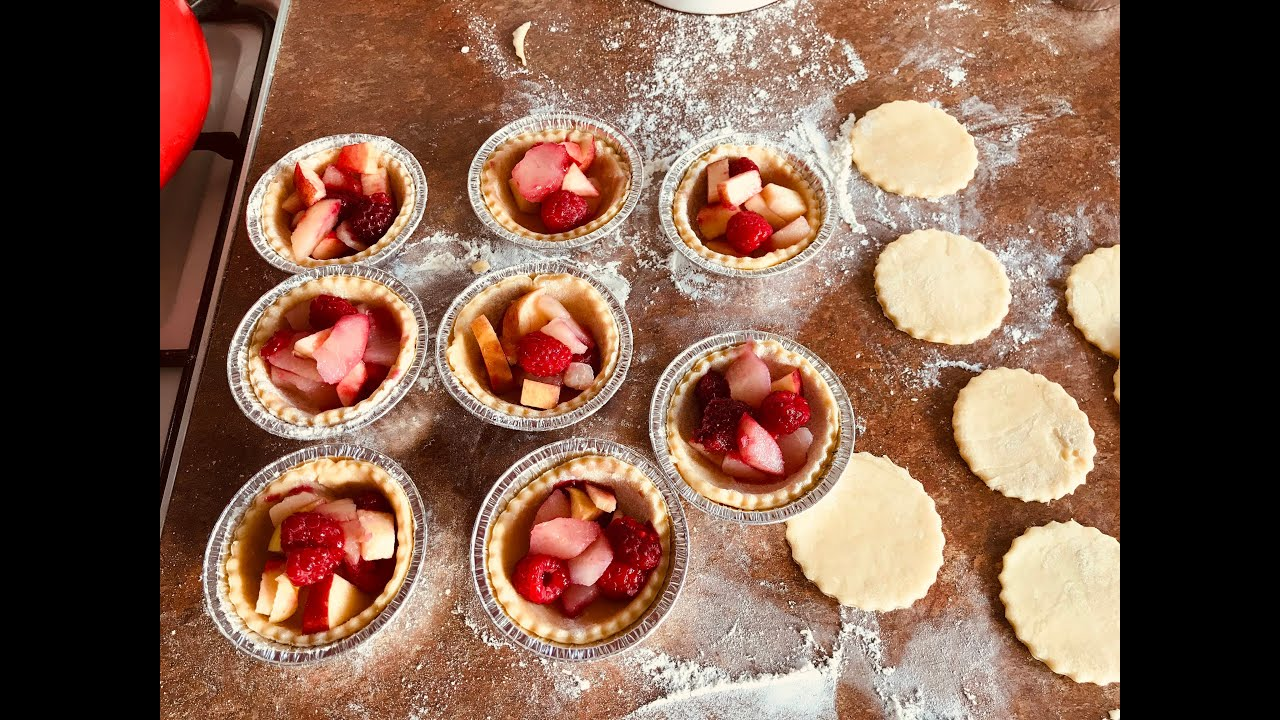 Pies! Easy easy fruity ones. | Mrs Bun the Baker | BunTv | BunBites