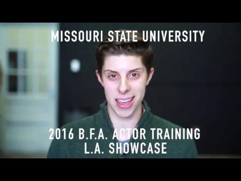 Missouri State University 2016 L.A. Showcase