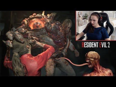 Самые страшные зомби лезут целоваться: Resident Evil 2 Remake :D