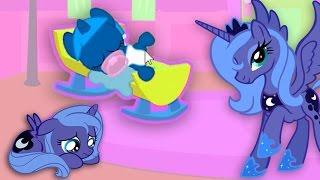 Май Литл Пони.Карманная пони Принцесса Луна. Мультик игра для детей.  My little pony
