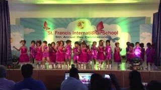 Little dance master of SFIS