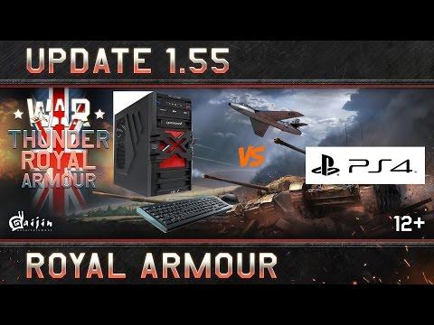 war thunder 1.55 update -  war thunder pc vs ps4