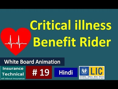 LIC's Critical Illness Benefit Rider (UIN : 512B210V01)