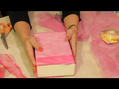 How to Decorate Small Craft Boxes : DIY Craft Tips