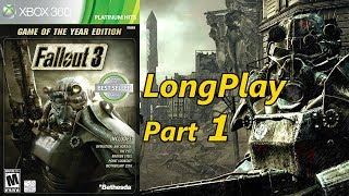 Fallout 3 - Longplay (Part 1 of 10) Hard Difficulty Playthrough (Xbox 360) (No Commentary)