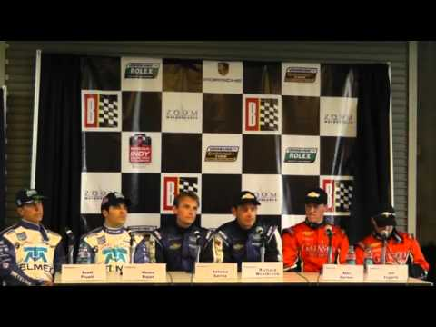Rolex Sports Car Series - Barber DP Podium Press Conference