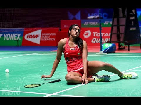 PV SINDHU - India's superstar in action at the YONEX All England