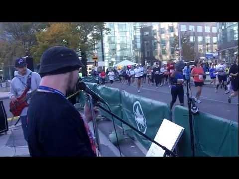 SOS live at 2011 NYC Marathon