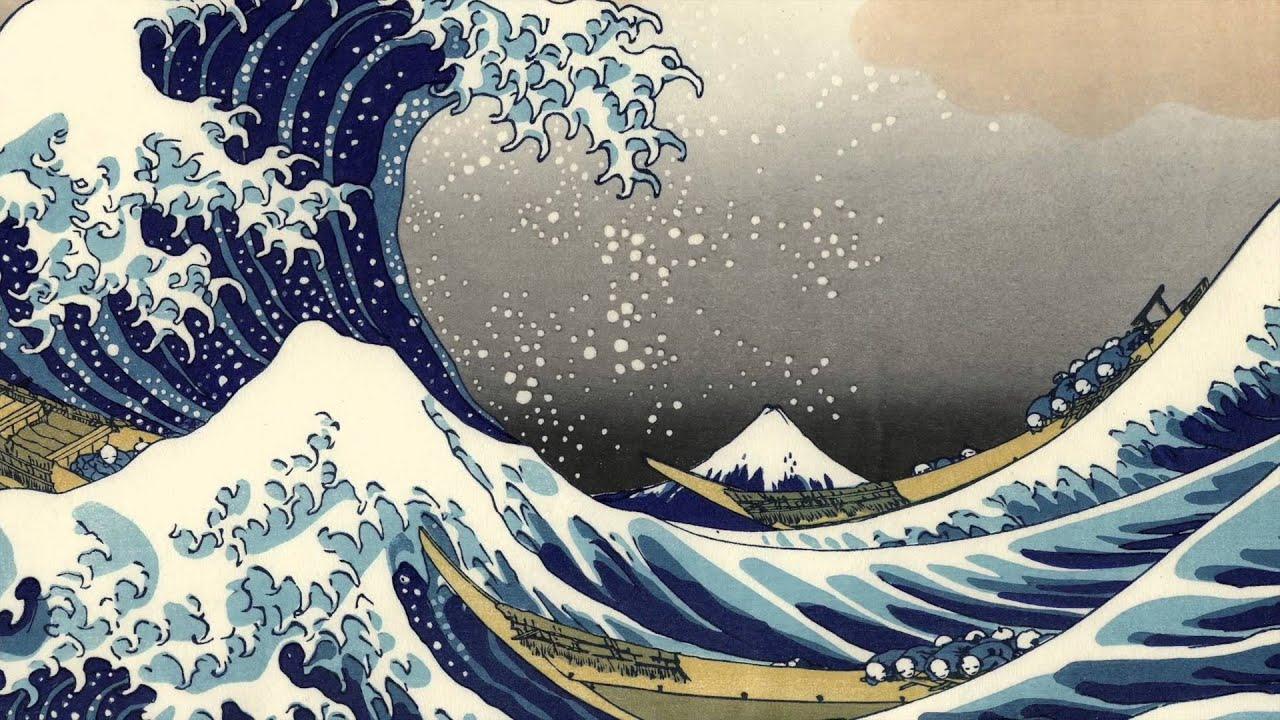 La Gran Ola De Kanagawa Katsushika Hokusai Arte Selecto