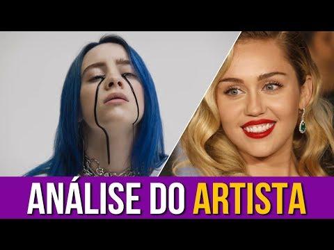 Miley Cyrus Analisa Billie Eilish