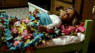 How To Make Bunk Beds For Your American Girl Doll Part 4 Of 4!