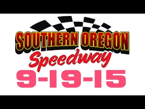 Southern Oregon Speedway Main Event 9-19-15